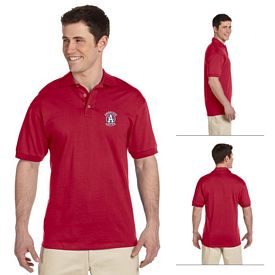 Customized Jerzees J100 6.1 oz Cotton Jersey Polo