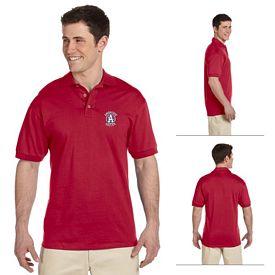 Customized Jerzees J100 6.1 oz Cotton Jersey Polo