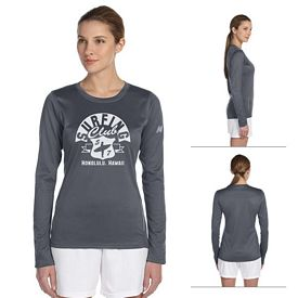Customized New Balance 9119L Ladies' Tempo Long-Sleeve Performance T-Shirt