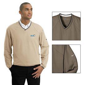 Customized Nike Golf 234180 V-Neck Pullover Wind Shirt