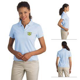 Customized Nike Golf 244613 Ladies' Dri-FIT Pique II Polo Shirt