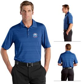 Customized Nike Golf 429438 Elite Series Dri-FIT Heather Fine Line Bonded Polo