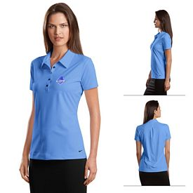 Customized Nike Golf 429461 Elite Series Ladies' Dri-FIT Ottoman Bonded Polo