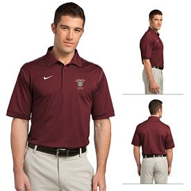 Customized Nike Golf 443119 Men's Dri-FIT Sport Swoosh Pique Polo