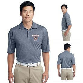 Customized Nike Golf 474231 Men's Dri-FIT Heather Polo Shirt