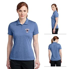 Customized Nike Golf 474455 Ladies' Dri-FIT Heather Polo Shirt