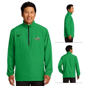 Customized Nike Golf 578675 Men's Sport 1/2-Zip Wind Shirt Pullover