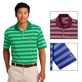Customized Nike Golf 578677 Men's Dri-FIT Tech Stripe Polo