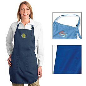 Customized Port Authority A500 Full Length Apron with Pockets