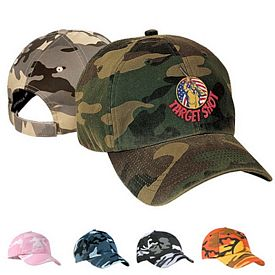 Customized Port Authority C851 Camouflage Cap