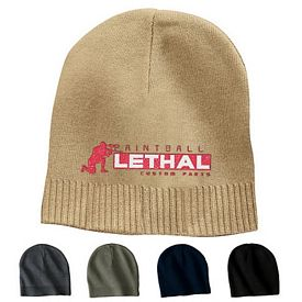 Customized Port Authority CP95 100% Cotton Beanie