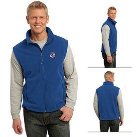 Customized Port Authority F219 Value Fleece Vest