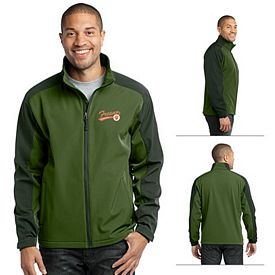 Customized Port Authority J311 Gradient Soft Shell Jacket