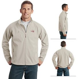 Customized Port Authority J705 Textured Soft Shell Jacket