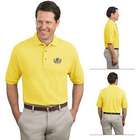 Customized Port Authority K420 7 oz Cotton Pique Knit Polo