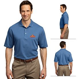 Customized Port Authority K455 Men's 5.6 oz Rapid Dry Polo