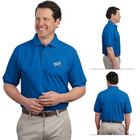 Customized Port Authority K500 Men's 5 oz Silk Touch Polo