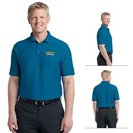 Customized Port Authority K514 Horizontal Texture Polo