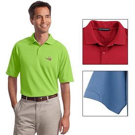 Customized Port Authority K525 Men's 5.3 oz Dry Zone Ottoman Polo