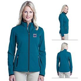 Customized Port Authority L222 Ladies Pique Fleece Jacket