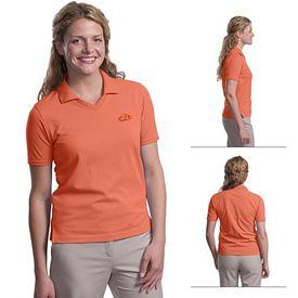 Customized Port Authority L455 Ladies 5.6 oz Rapid Dry Polo