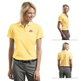 Customized Port Authority L510 Ladies 5.6 oz Stain-Resistant Polo