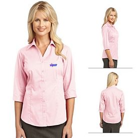 Customized Port Authority L6290 Ladies 3/4-Sleeve Blouse