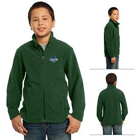 Customized Port Authority Y217 Youth Value Fleece Jacket
