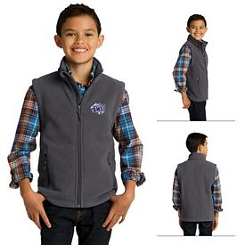 Customized Port Authority Y219 Youth Value Fleece Vest