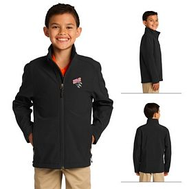 Customized Port Authority Y317 Youth Core Soft Shell Jacket