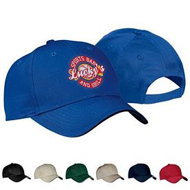Customized Port & Company CP85 Sandwich Bill Cap