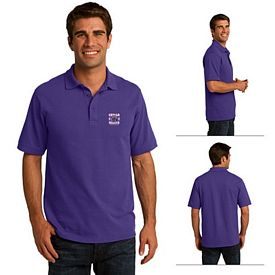 Customized Port & Company KP155 Men's 50/50 Pique Polo
