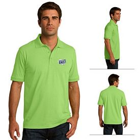Customized Port & Company KP55 Adult 5.5 oz Jersey Knit Polo