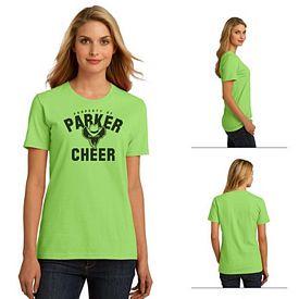 Customized Port & Company LPC150ORG Ladies Essential 100% Organic Ring Spun Cotton T-Shirt