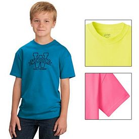 Customized Port & Company PC54Y Youth 5.4 oz 100% Cotton T-Shirt