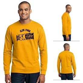 Customized Port & Company PC55LS Long Sleeve 50/50 Cotton/Poly T-Shirt