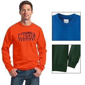 Customized Port & Company PC78 Classic Crewneck Sweatshirt