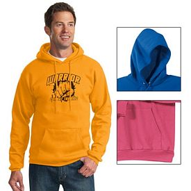 Customized Port & Company PC78H Classic Pullover Hooded Sweatshirt