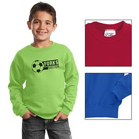 Customized Port & Company PC90Y Youth Crewneck Sweatshirt