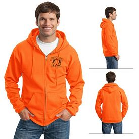 Customized Port & Company PC90ZH Ultimate Full-Zip Hooded Sweatshirt
