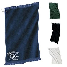 Customized Port & Company PT41 Grommeted Hand Golf Towel
