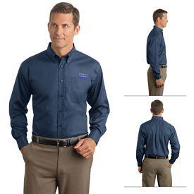 Customized Red House RH38 Men's Herringbone Non-Iron Button-Down Shirt