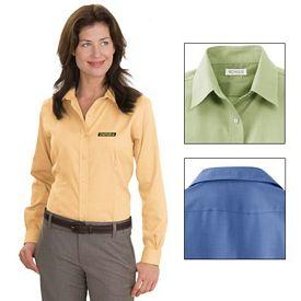 Customized Red House RH47 Ladies Nailhead Non-Iron Button-Down Shirt
