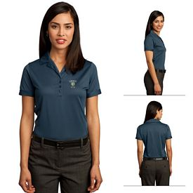 Customized Red House RH50 Ladies Contrast Stitch Performance Pique Polo
