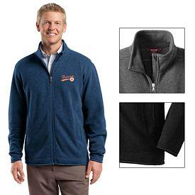 Customized Red House RH54 Men's Sweater Fleece Full-Zip Jacket