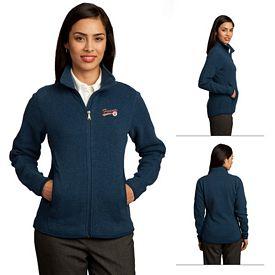 Customized Red House RH55 Ladies Sweater Fleece Full-Zip Jacket
