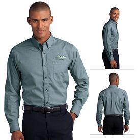 Customized Red House RH66 Men's Mini-Check Non-Iron Button-Down Shirt
