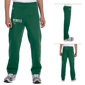 Customized Russell Athletic 596HBB Youth Dri-Power Open-Bottom Fleece Pant