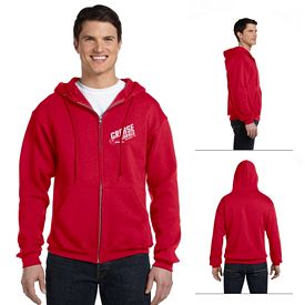 Customized Russell Athletic 697HBM Dri-Power Fleece Full-Zip Hood