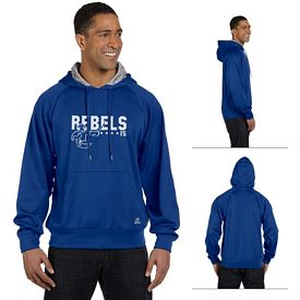 Customized Russell Athletic 854EFM Tech Fleece Pullover Hood